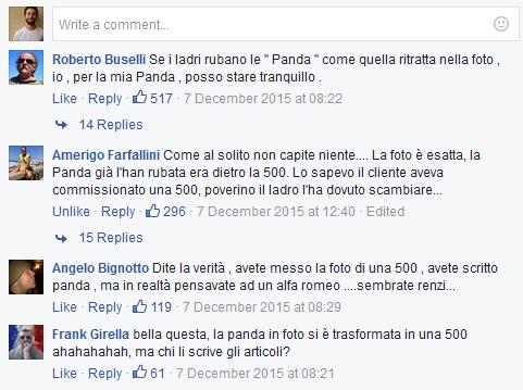 Interazioni all'errore di Repubblica.it