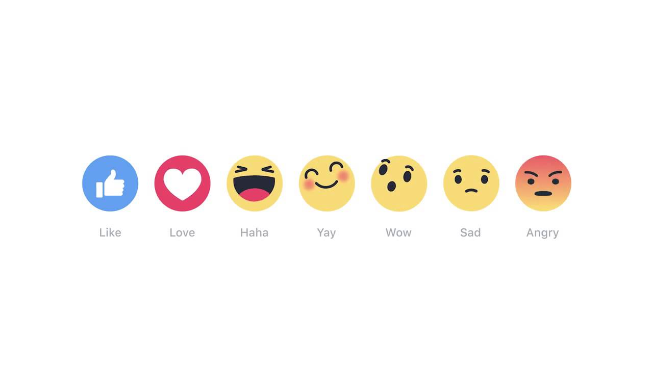 Reactions di Facebook