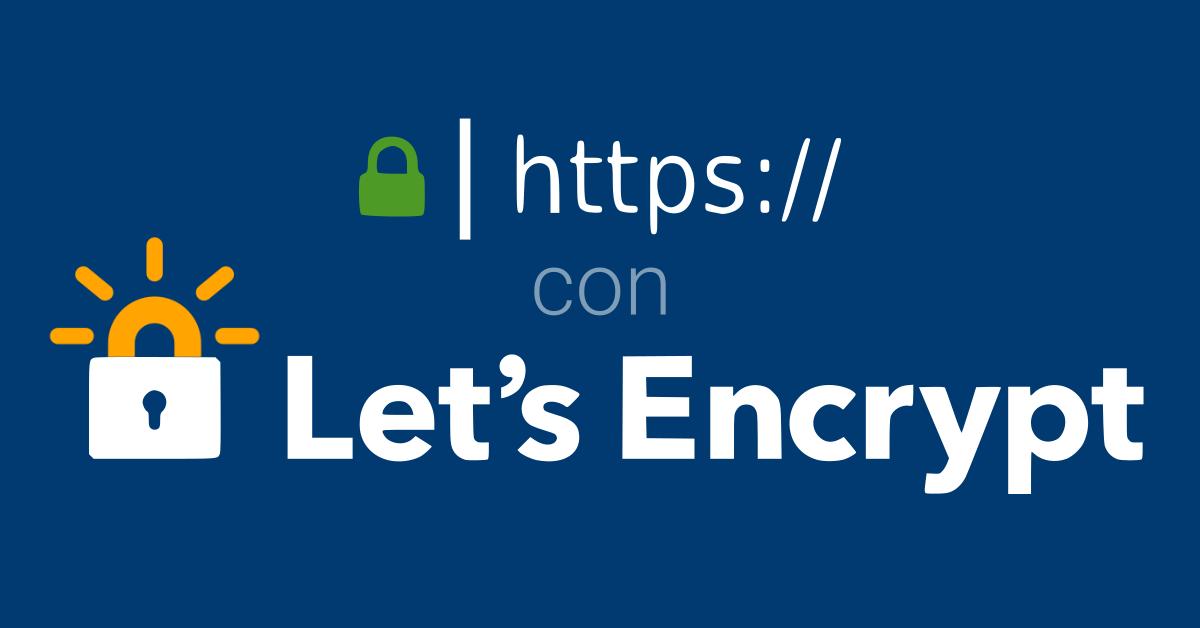 Installare un certificato Let's Encrypt da linea di comando
